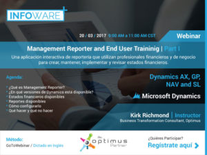 Management Reporter and End User Training