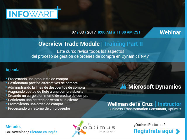 Overview Trade Module