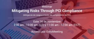 Webinar Mitigating Risks Through PCI Compliance Landing-Page